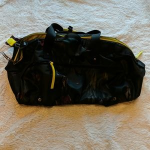 Lululemon Gym Bag Duffle Go the Distance Floral